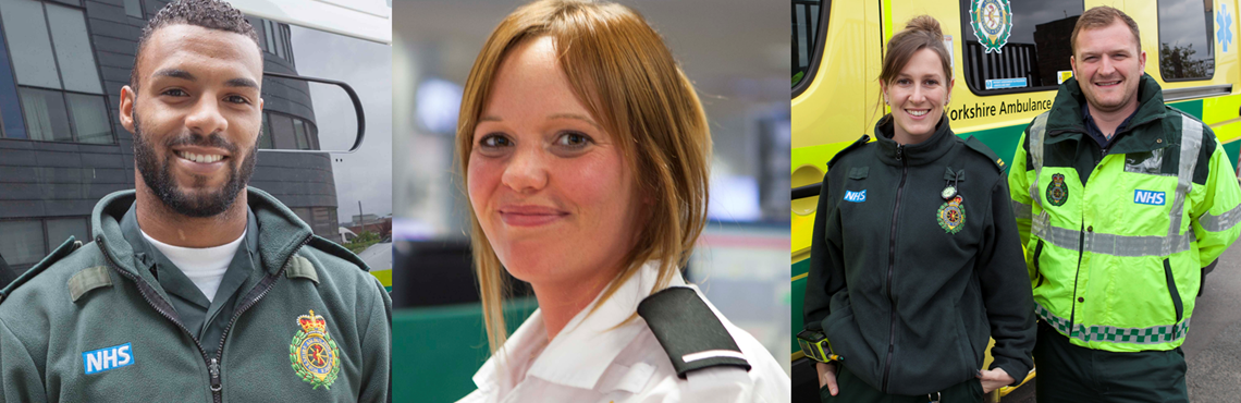 Join the Yorkshire Ambulance Service team.