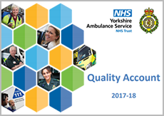 Click here to view the Yorkshire Ambulance Service Quality Account 2017-18