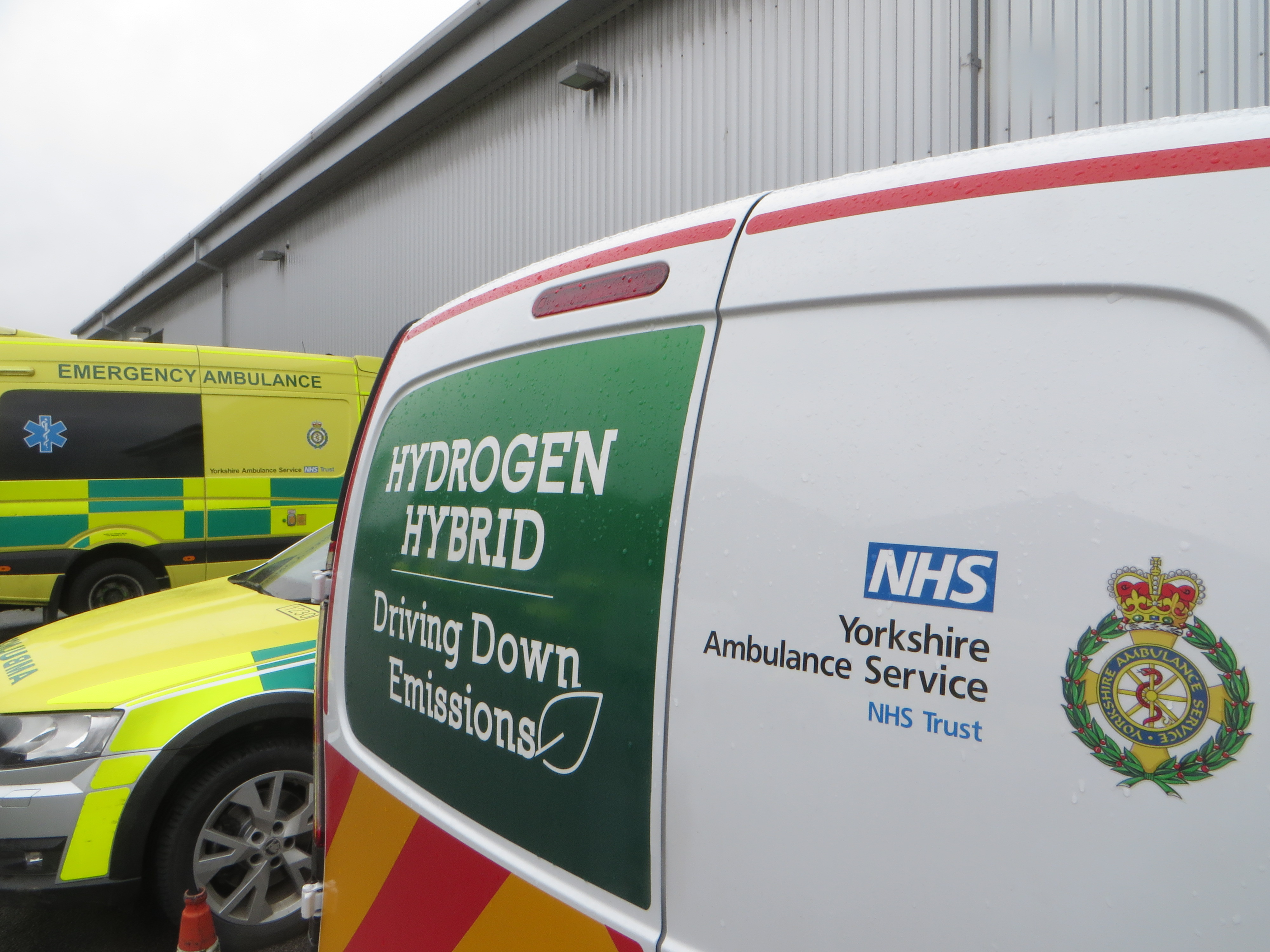 Yorkshire Ambulance Service leads the way with eco-friendly