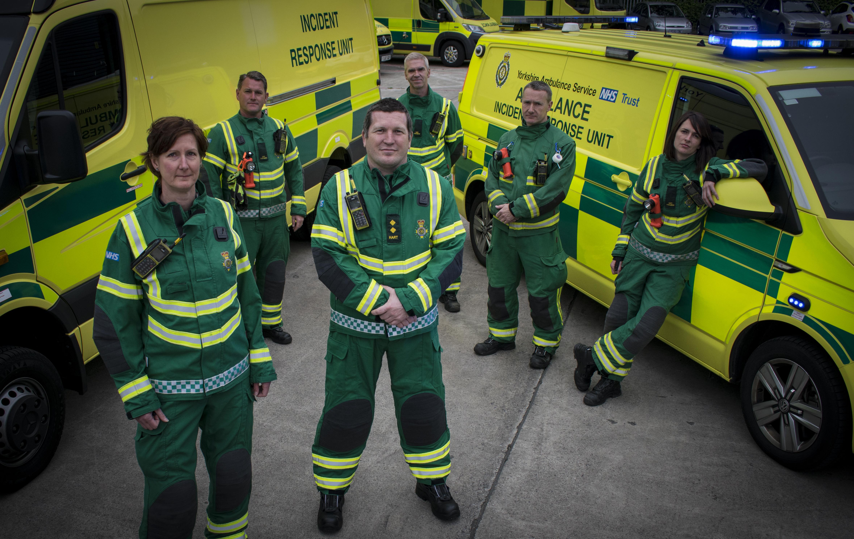 Yorkshire's ambulance 'Rescue Squad' makes TV debut