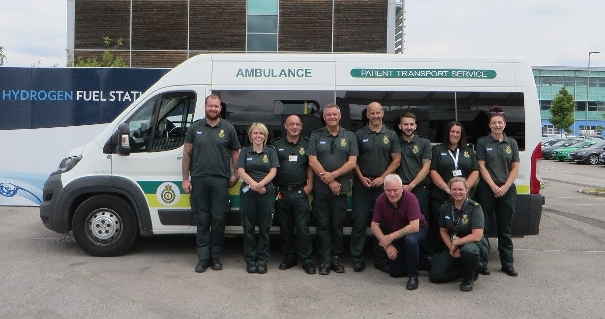 Pioneering patient transport vehicle joins Yorkshire Ambulance
