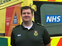 Emergency Care Assistant Tom Charlesworth