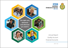 Click here to view the Annual Report, Quality Accounts and Financial Acounts 2017 - 18 (PDF)