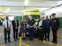 Colleagues and distinguished guests attended the Huddersfield AVP opening