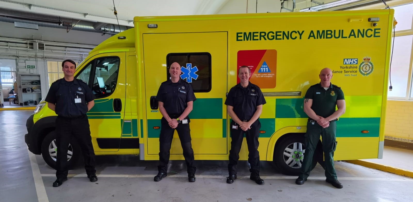 Yorkshire Ambulance Service welcomes additional COVID-19 support from fire and rescue colleagues
