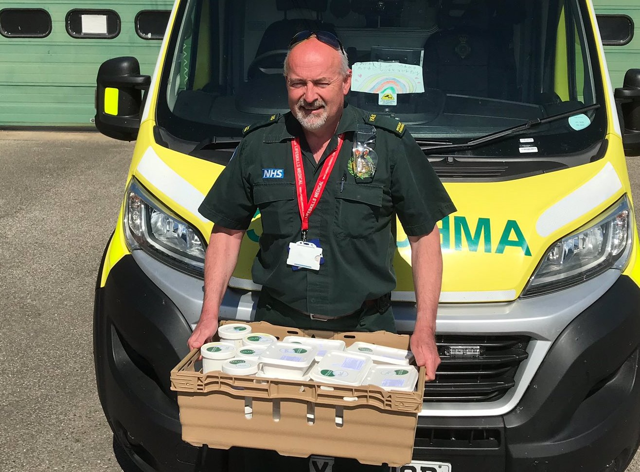 Thousands of meals donated to NHS and community projects
