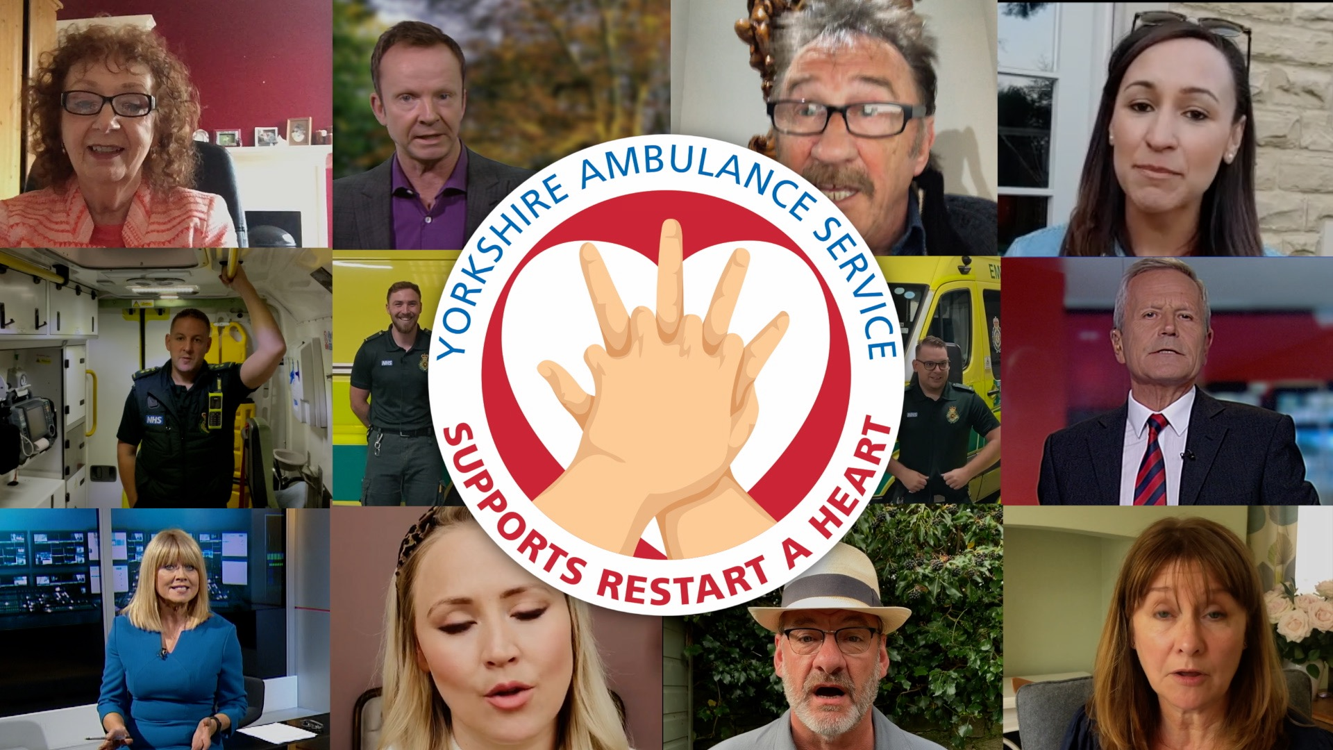 Celebrities join forces to support Restart a Heart campaign